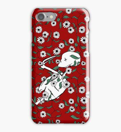 Skeleton Floral iPhone Case/Skin
