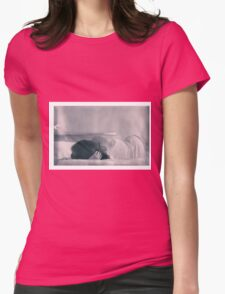 Nude Women Sexy - Sensual Womens Fitted T-Shirt