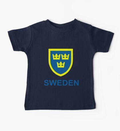 Country - Swedish Three Crowns Baby Tee