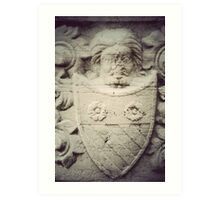 coat of arms Art Print