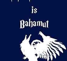 My Patronus is Bahamut by OuroborosEnt