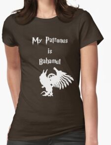 My Patronus is Bahamut Womens Fitted T-Shirt