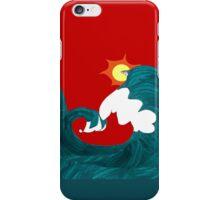 Shark Surfing iPhone Case/Skin
