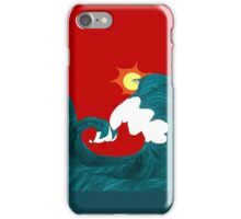 Shark Surfing iPhone Case/Skin