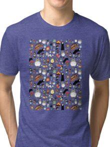 Background Totoro Tri-blend T-Shirt