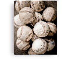Baseball Collection Canvas Print