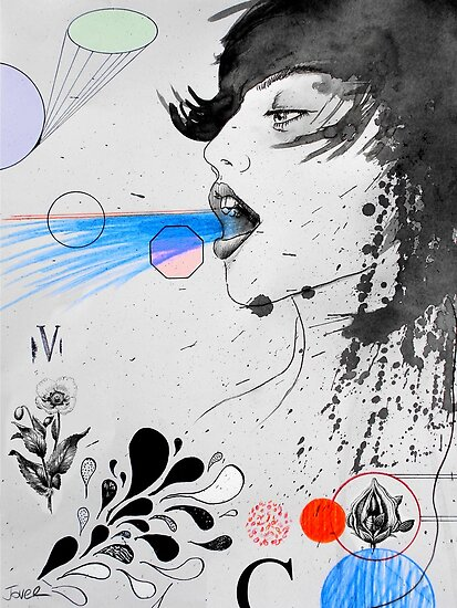 involuntary bliss by Loui  Jover