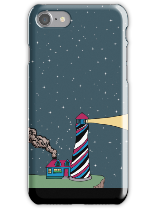 Lighthouse in the Distance by pondripple
