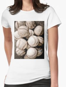 Baseball Collection Womens Fitted T-Shirt