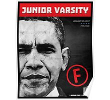 Failed Junior Varsity President Poster