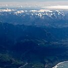 South Island from the Sky by Sheaney