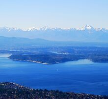 Over Puget Sound by Tori Snow