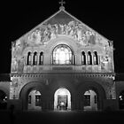 Stanford Memorial Church at Night. Palo Alto, California by Igor Pozdnyakov