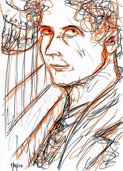 Harpo Marx by RachelScottArt