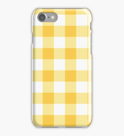 Sunny Plaid iPhone Case/Skin
