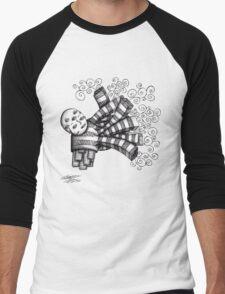 Pollution Monster Men's Baseball ¾ T-Shirt