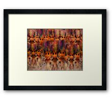 On the March Framed Print