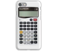 Iphone calculator disguise  iPhone Case/Skin