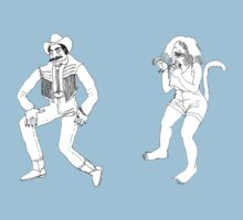 Los Coulters dancers stickers by LosCoulters