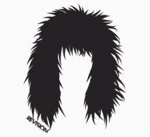 MY 80's GIRL!!!! LOVE MY HAIR SHIRT!! :D for woman :D Kids Tee
