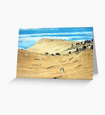 Southern Midlands Dry Greeting Card