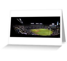 The Rangers Ballpark at Arlington, Texas. Greeting Card