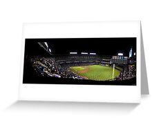 The Rangers Ballpark at Arlington, Texas. Greeting Card