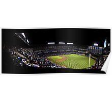 The Rangers Ballpark at Arlington, Texas. Poster