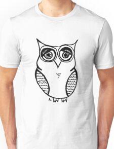 Owl number 19 Unisex T-Shirt