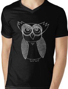 Owl number 21 Mens V-Neck T-Shirt