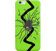 Lime Green Cracked Iphone Case iPhone Case/Skin