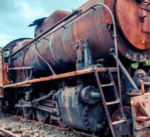 Steam Engine Rusting Sticker