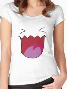 Wobbuffet's face Women's Fitted Scoop T-Shirt