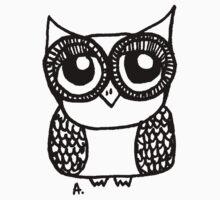 Owl number 5 Kids Tee