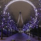 London Eye by night by Pancake76