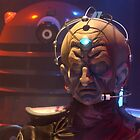 Davros and a Dalek from Doctor Who by ChrisBalcombe