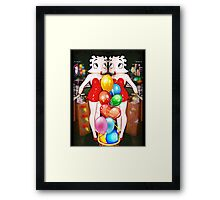 Double Betty Deluxe Framed Print