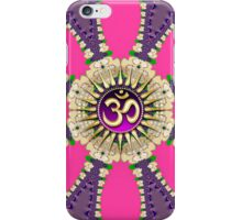 Hot Pink + Purple New Age Golden OM iPhone & iPod Case iPhone Case/Skin
