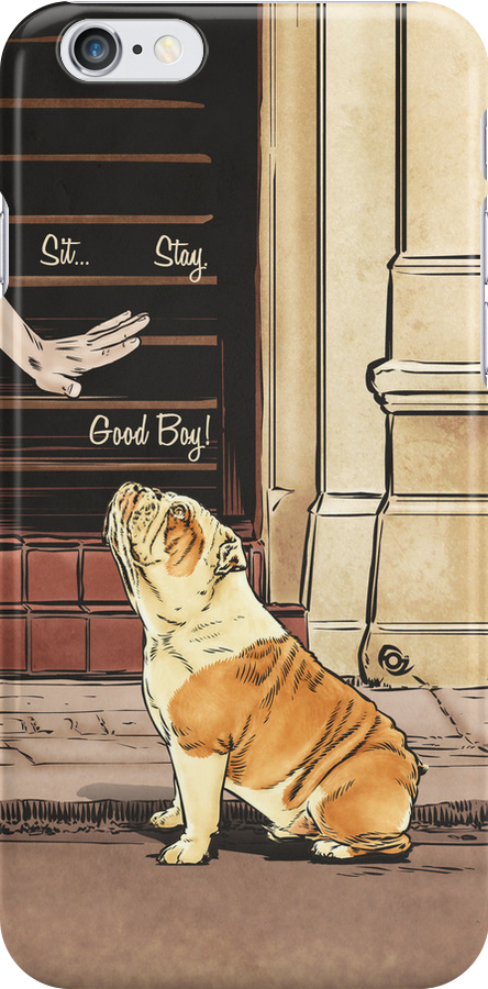 Sit. Stay. Good Boy! by James Fosdike