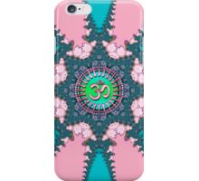Fractal Lace New Age Pink OM iPhone & iPod Case iPhone Case/Skin
