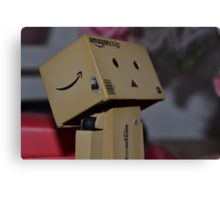 """""""What is that?"""" - Danbo! Canvas Print"""