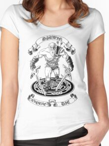 EVOLVE OR DIE! Women's Fitted Scoop T-Shirt