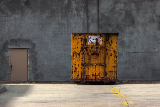 Yellow container by athex
