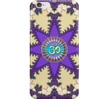 Fractal Lace Star Sanskrit OM iPhone & iPod Touch Case iPhone Case/Skin