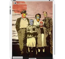 ''Luchadores Have Families Too'' iPad Case/Skin
