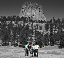 Devils Tower - Close Encounter of the Harley Riders by David Owens