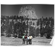Devils Tower - Close Encounter of the Harley Riders Poster