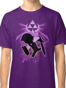 Super Smash Bros. Purple Toon Link Silhouette Classic T-Shirt