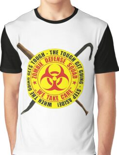 Zombie Defense Squad - when the going get's tough - step aside! Graphic T-Shirt