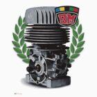BM Vintage Kart Engine by harrisonformula